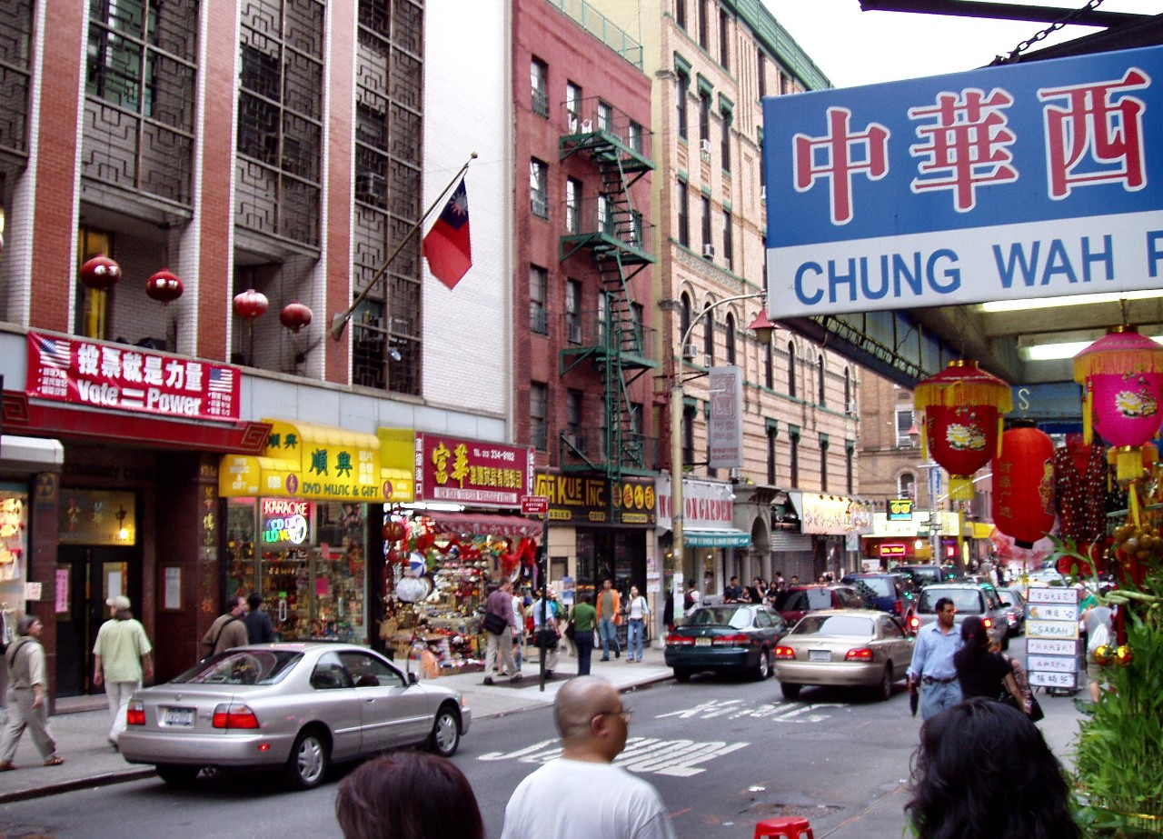 Chinatown_manhattan_USA_CHINA_relations_finance