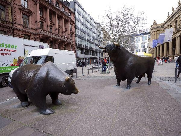 Bull and Bear on market